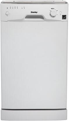 Danby DDW1809W  Built-In Full Console Dishwasher
