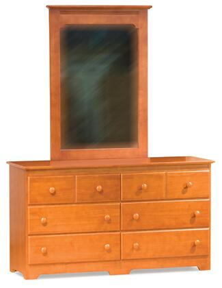 Atlantic Furniture WINDSOR6DDLC Windsor Series  Dresser