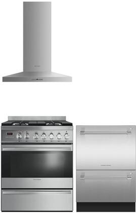 Fisher Paykel 718628 Kitchen Appliance Packages