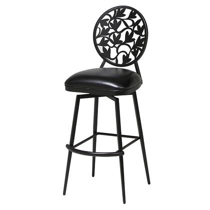 Pastel Furniture QLBR219 Brownsville Bar Height Swivel Barstool