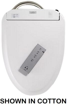 Toto SW573x Washlet S300e Round Toilet Seat with eWater+ with Built-in Air Deodorizing System, Warm-air Dryer, Self-Cleaning Water Wand, SoftClose Seat, Adjustable Water and Seat Temperatures in