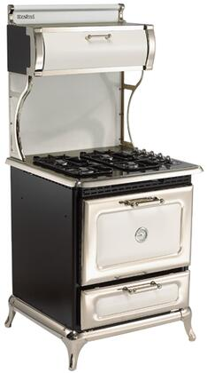 """Heartland Classic Series 9200-00G 30"""" Freestanding Gas Range with 4 Sealed Burners, 3.6 cu. ft. Capacity, Cast Iron Grates, Broiler Drawer, & Electronic Ignition, in (Natural Gas)"""