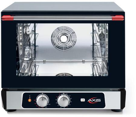 """Axis AX514RHx 24"""" Countertop Convection Oven with 2.4 cu. ft. Capacity and Double Wall Oven Glass Door, in Black"""