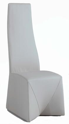 Chintaly RUBYSC RUBY COLLECTION Fully Upholstered High Back Side Chair