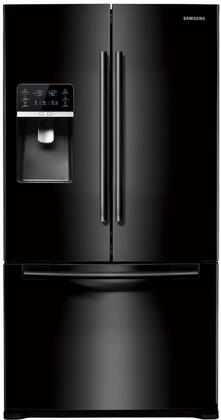 Samsung Appliance RFG297HDBP  French Door Refrigerator with 28.5 cu. ft. Total Capacity 5 Glass Shelves