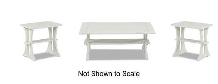 Klaussner 377KL3PCRC2REKIT1 Santa Cruz Living Room Table Set