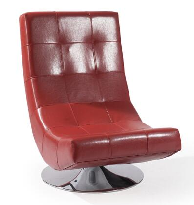 Red Mario Swivel Chair