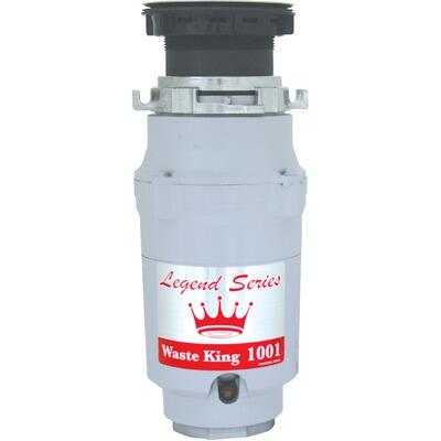 Waste King 1001 Continuous Feed 1/2 HP Food Disposer