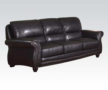 Acme Furniture 50105 Maloney Series Sofa Leather Sofa