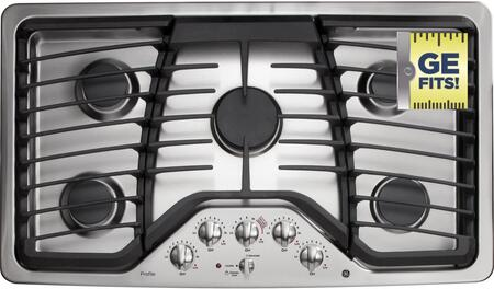 "GE Profile PGP976 36"" Built-In Gas Cooktop"
