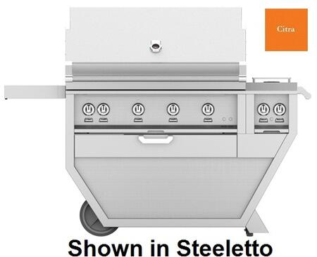 60 in. Deluxe Grill with Side Burner   Citra
