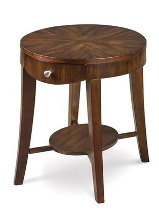 Magnussen T140807 Aster Series Transitional Oval End Table