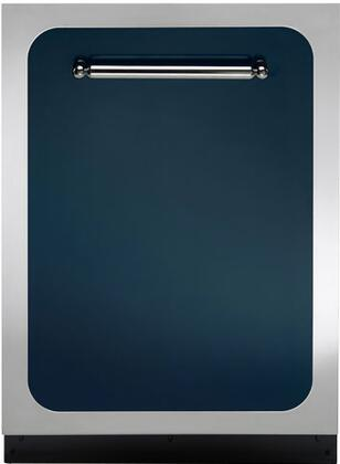 "Heartland HCTTDWCBL 24"" Classic Series Built In Fully Integrated Dishwasher with 15 Place Settings Place Settingin Blue"