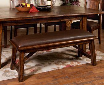 Sunny Designs 1475SB Safari Series  Wood Bench