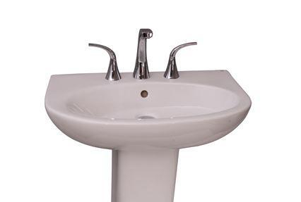 Barclay B3328WH White Bath Sink