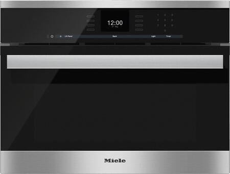 """Miele DGC6600XL1x 24"""" Combi Steam Oven with SensorTronic Controls, MultiSteam Technology, MasterChef Menus, and Lift Up Control Panel, in"""