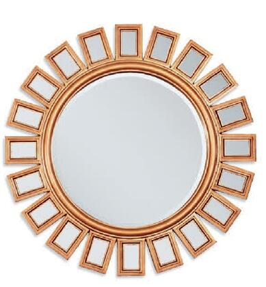 Acme Furniture 97059 Ferdie Series Round Both Wall Mirror