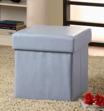 Coaster 500935 Normangee Series Traditional Vinyl Ottoman