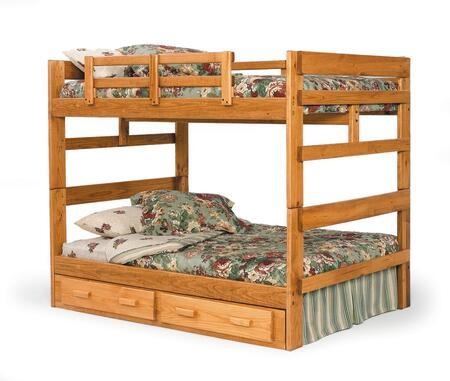 Chelsea Home Furniture 3626541S  Full Over Full Size Bunk Bed