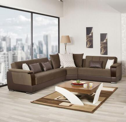 Sectional Brown 2