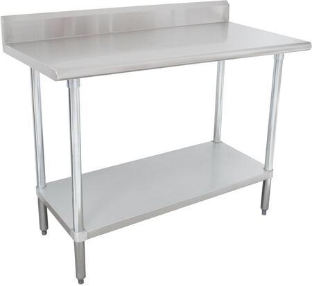 Work Table with Backsplash