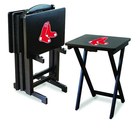Imperial International 86-20 MLB Themed Set of 4 TV Trays with Stand & Official Team Color and Logo