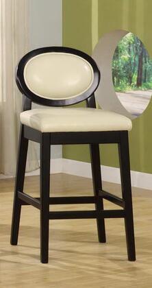 Armen Living LC7015BACR30 Residential Leather Upholstered Bar Stool