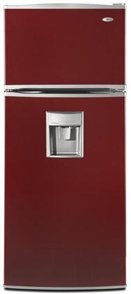 Amana A8WXNGFWH  Refrigerator with 17.6 cu. ft. Capacity in Red