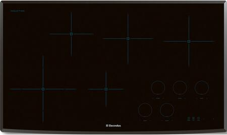 """Electrolux EW36IC60L 36"""" Induction Cooktop with 7/11"""" Dual Element, Temperature Control, Perfect Set Controls, Power Assist Function, Keep Warm Setting, Kitchen Timer, Cooking Flexibility and Energy Efficient in"""