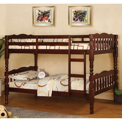 Furniture of America CMBK606CHBED Catalina Series  Twin Size Bunk Bed