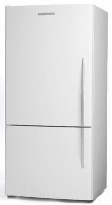 Fisher Paykel E522B Active Smart 17.3 cu. ft. Bottom-Freezer Refrigerator with Adjustable Glass Shelves and Active Smart System: