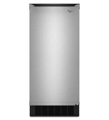 Whirlpool GI15NDXZS Gold Series Freestanding Ice Maker with 50 lbs. Daily Ice Production, 25 lbs. Ice Storage, in Stainless Steel