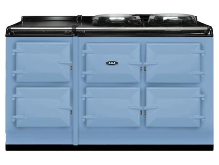 AGA ATC5DEB Total Control Series Duck Egg Blue Slide-in Electric Range with