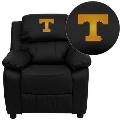 Flash Furniture BT7985KIDBKLEA40005EMBGG Childrens Bonded Leather Wood Frame  Recliners