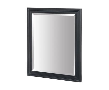 Xylem MCAMINO30BK  Rectangular Portrait Bathroom Mirror with Wood Frame |Appliances Connection