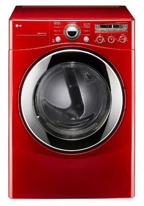 LG DLE2350R  Electric Dryer, in Red