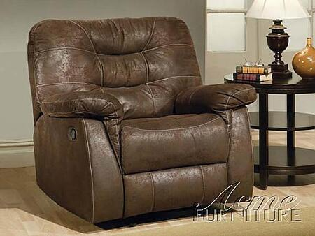 Acme Furniture 15115 Riva Series Contemporary Microfiber Wood Frame  Recliners