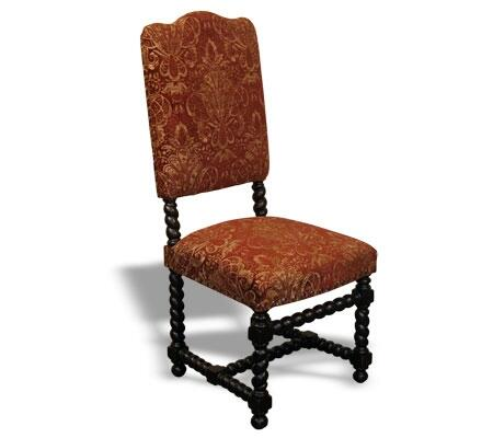 Peninsula Home Collection DC0021015 Traditional Fabric Wood Frame Dining Room Chair