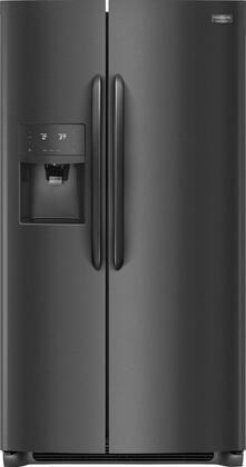 """Frigidaire FGSS2635T 36"""" Side-by-Side Refrigerator with 25.6 cu. ft. Capacity, External Water and Ice Dispenser, in"""