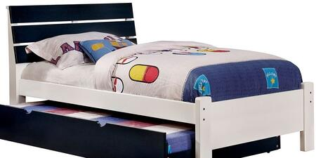 Furniture of America CM7626BLTBED Kimmel Series  Twin Size Bed