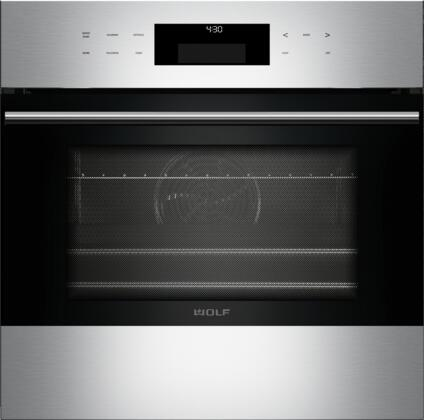 """Wolf SOTE/S/TH XX"""" Star-K E Series Transitional Built-In Single Oven with X Capacity, Convection Oven, 11 Cooking Modes, Self Clean, Delayed Start, and Halogen Lighting, in Stainless Steel"""