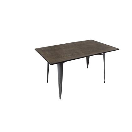 LumiSource DTTWOR Oregon Dining Table