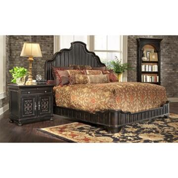 Ambella 02226200091 Bonita Series  King Size Platform Bed