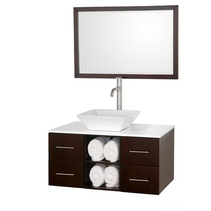 Wyndham Collection WCSB90036ESWHD28WH