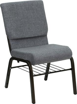 Flash Furniture XUCH60096BEIJINGGYBASGG Hercules Series Armless Fabric Metal Frame Accent Chair