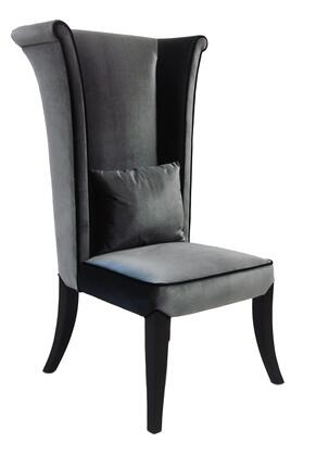 Gray Chair Front View