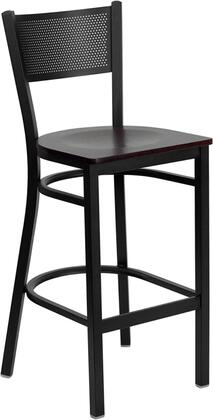 Flash Furniture XUDG60116GRDBARMAHWGG Hercules Series Not Upholstered Bar Stool