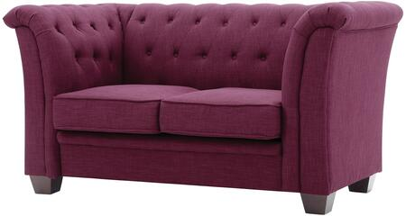 Glory Furniture G326L Fabric Stationary Loveseat