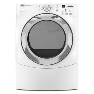 Maytag MEDE900VW Performance Series Electric Dryer, in White