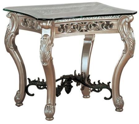 Myco Furniture ES9900ET Estonia Series Transitional Square None Drawers End Table